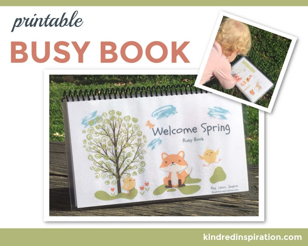 printable toddler learning book