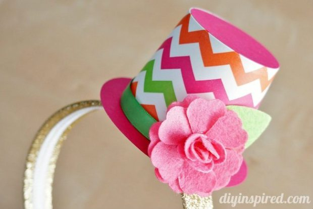 Party headband top hat