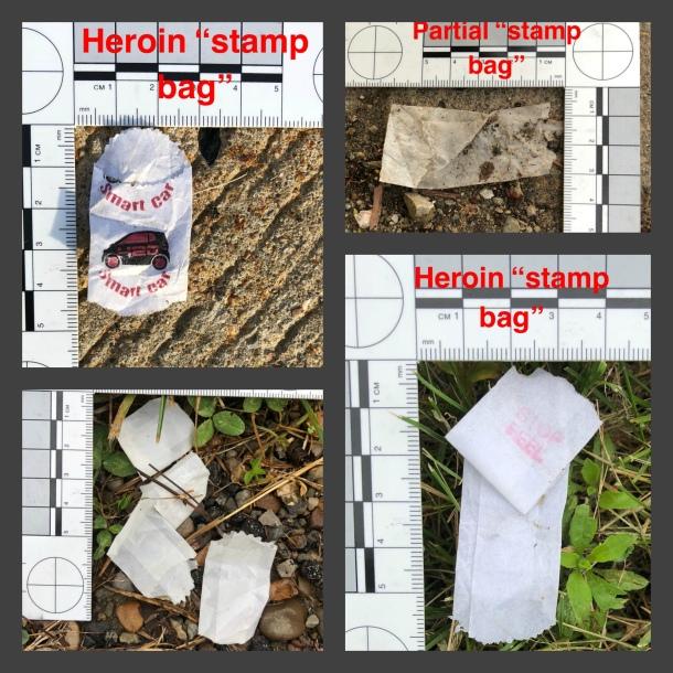 heroin stamp bags