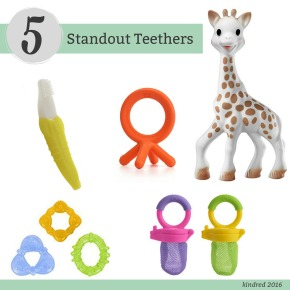 5 Standout Teethers