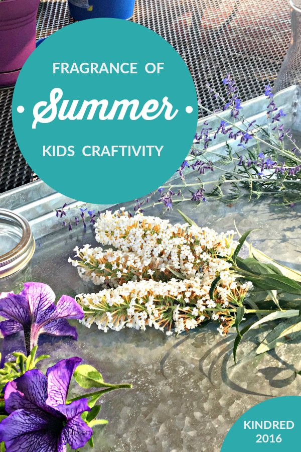 Summer sensory and craft kids activity