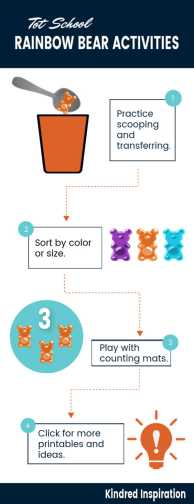 counting bear toddler activities