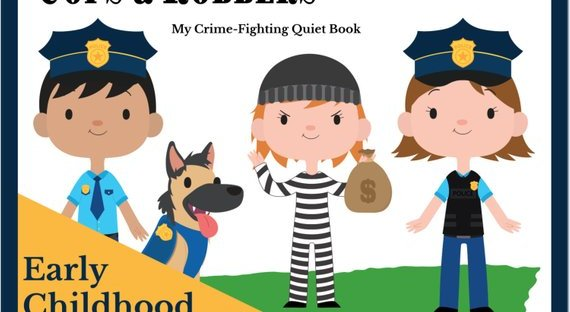 Learning Printables Cops and Robbers Activities