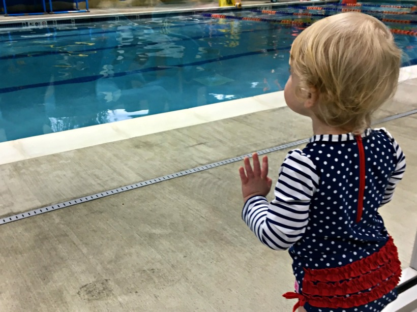 Toddler Swim Lesson Class Water Safety