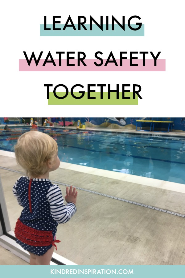 Teaching water safety and swimming to toddlers