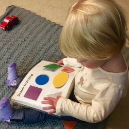 Toddler printable learning activity book