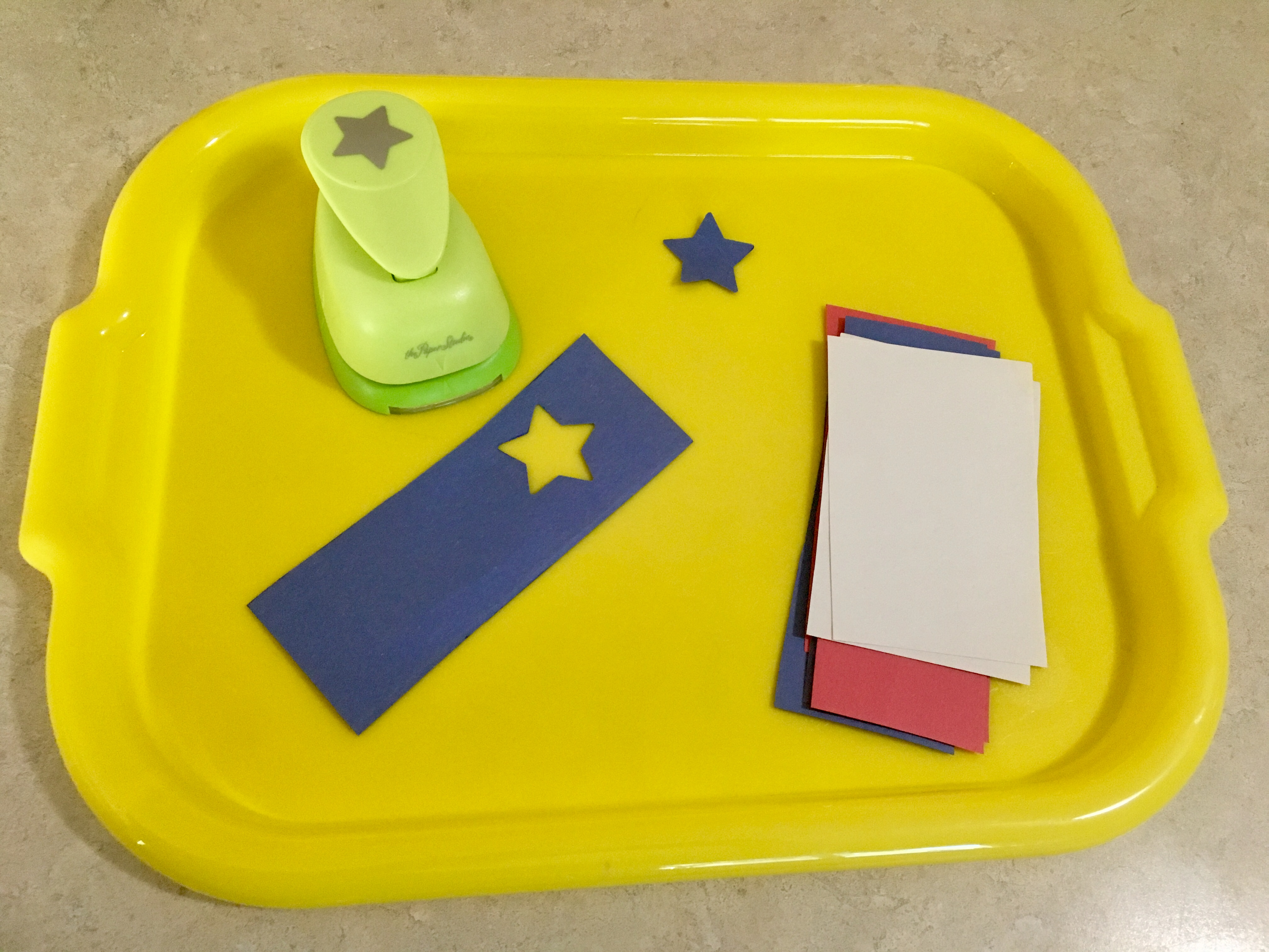 Fourth of July Toddler Craft Activity