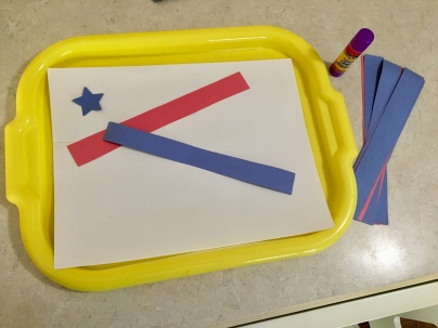 Fourth of July Toddler Craft