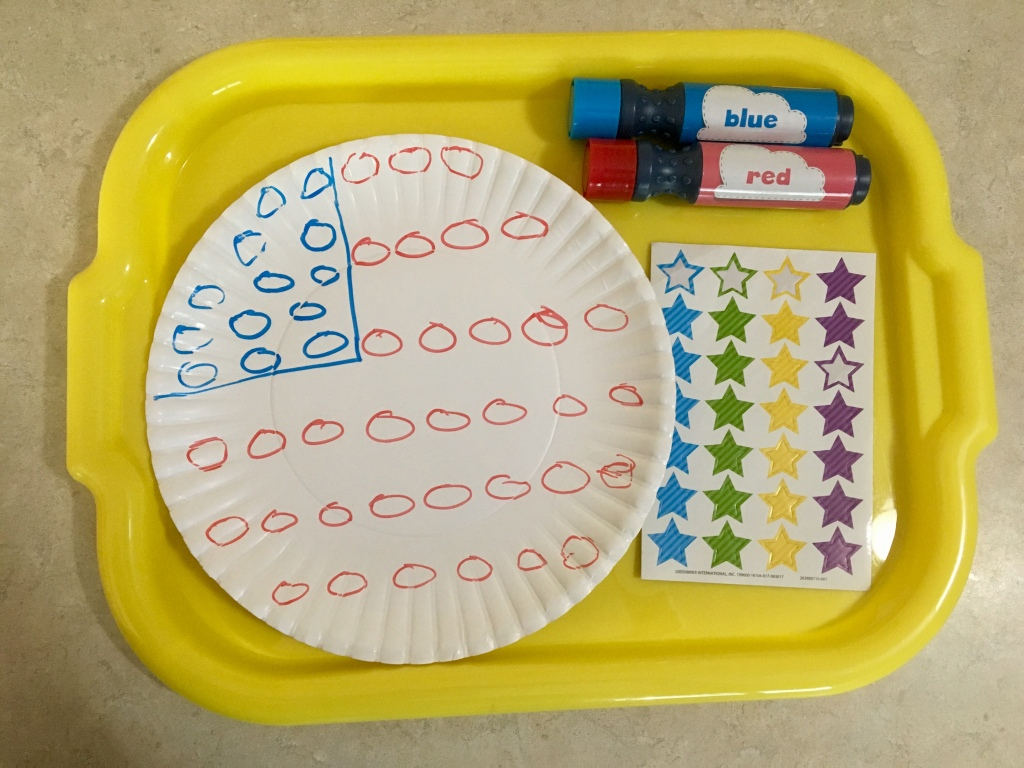 Fourth of July Toddler Do-A-Dot Craft