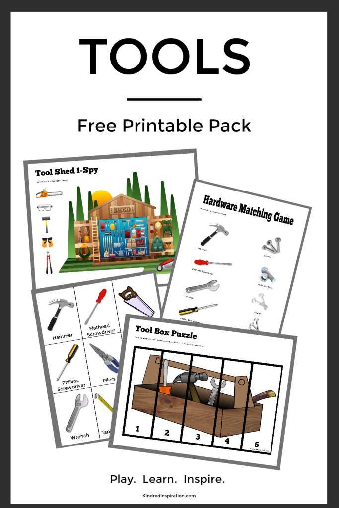 Tool Free Printable Kids Activity Pack