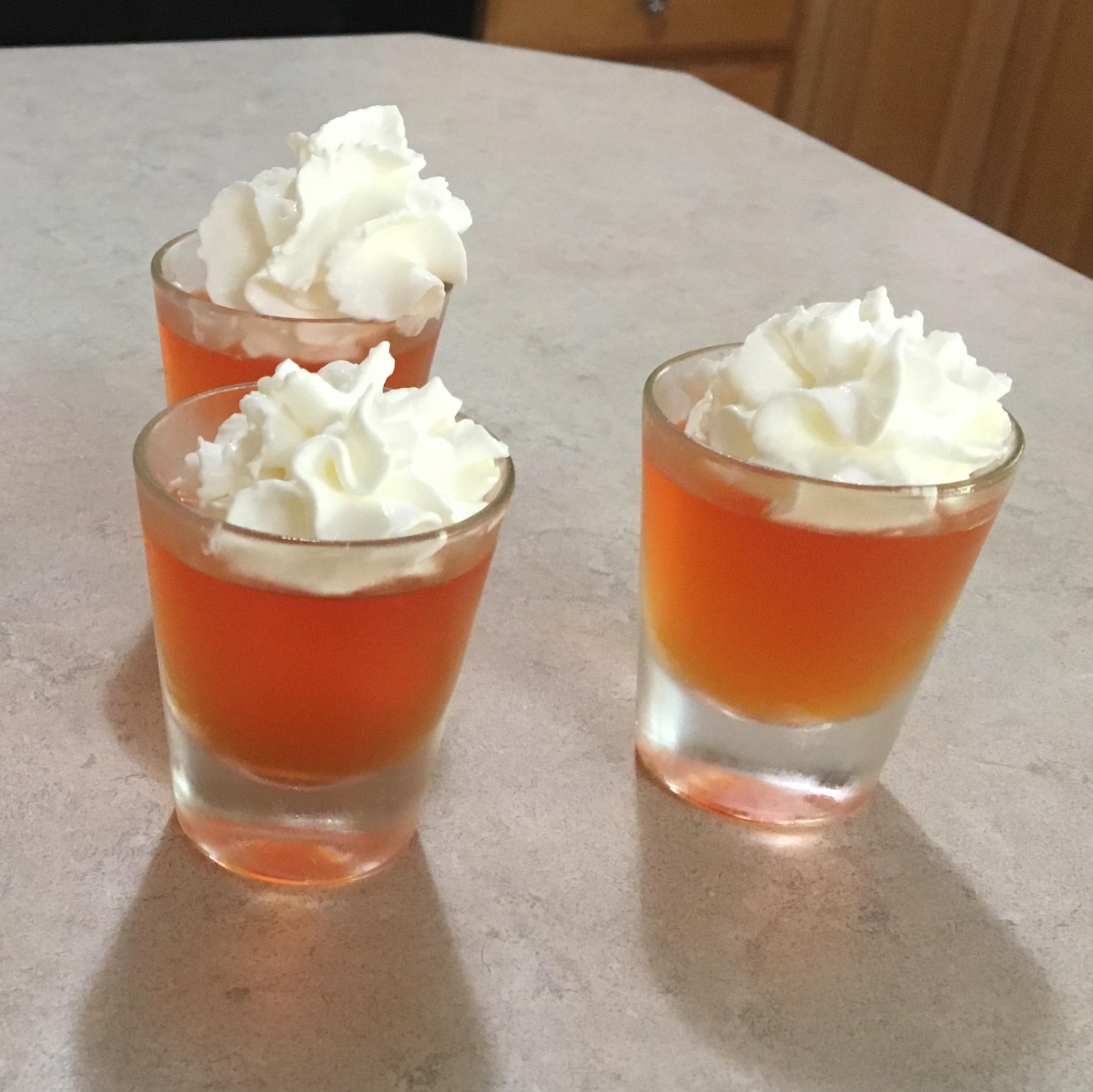 kids jello Oktoberfest dessert recipe