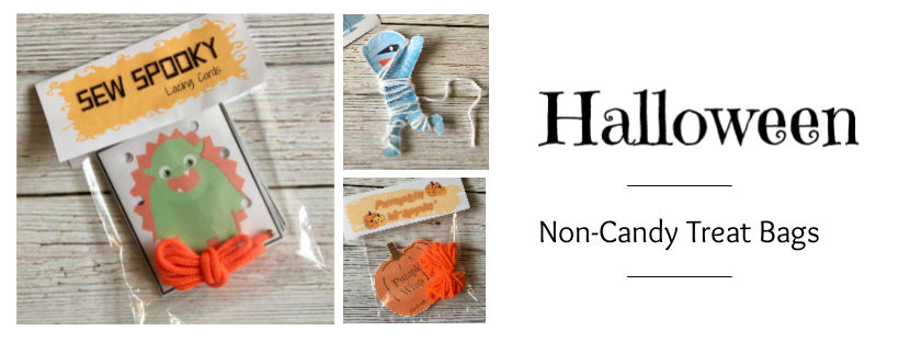 halloween non-candy treat bags