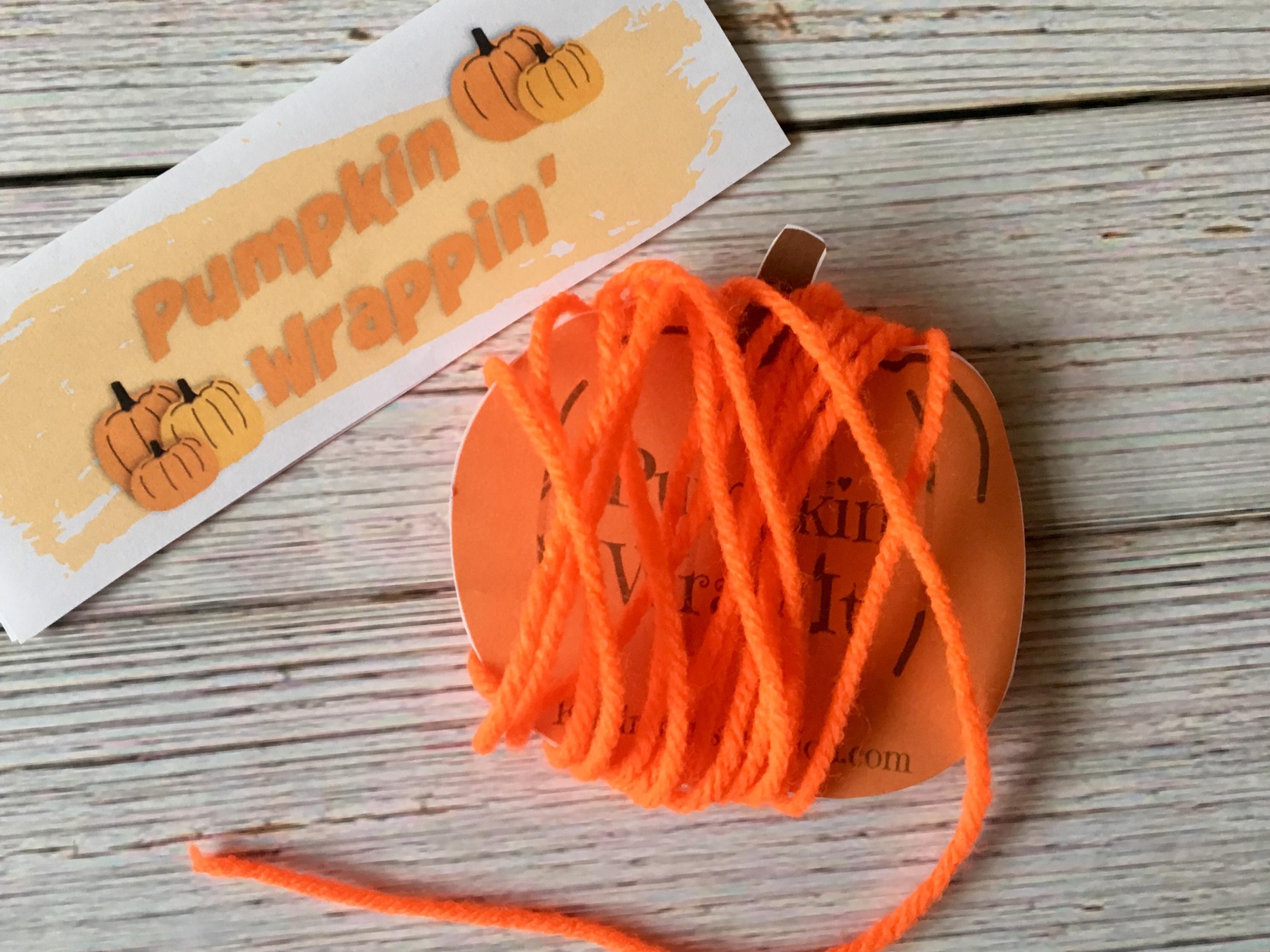 Printable Halloween Treat Bag Topper and Craft Kit