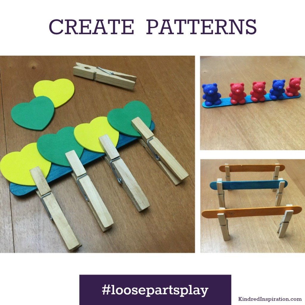 Learning Patterns Toddler Activity
