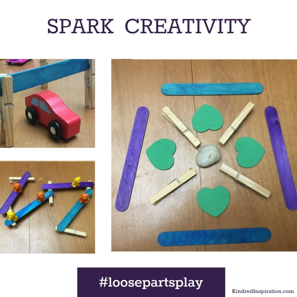 Loose Parts Invitation to Play